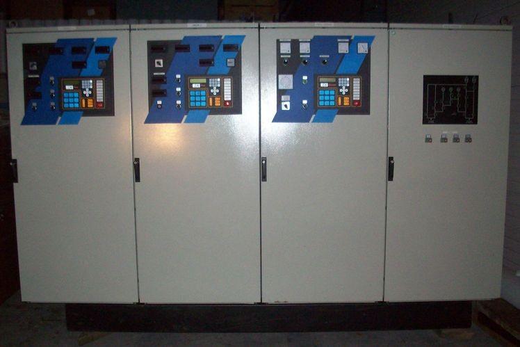 Armoires, réservoirs journaliers, INS,... équipements groupes électrogènes